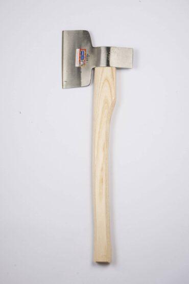 Fleischerbeil, mit Knochenspalter, Öhr mittig