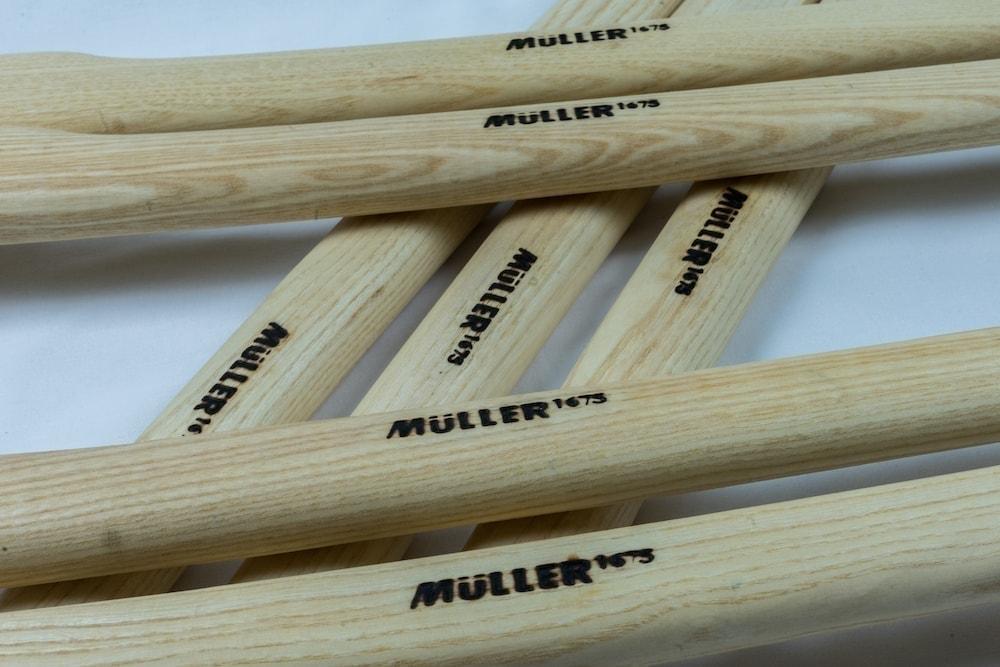 Wir verwenden Holz aus der Region für unser nachhaltiges Werkzeug